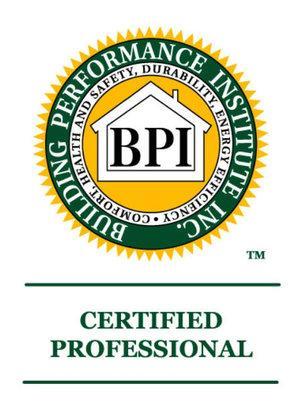 bpi logo, bpi certified, goggin energy bpi member